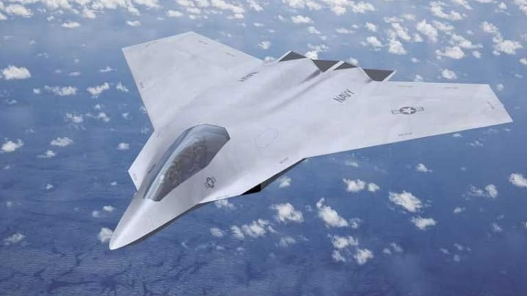 Navy Sees Stealthy, AI-Enabled 6th-Gen Fighter to Fly With F-35
