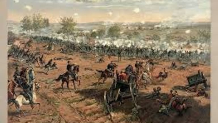 The Bloody, Disorderly Chaos of Civil War Combat