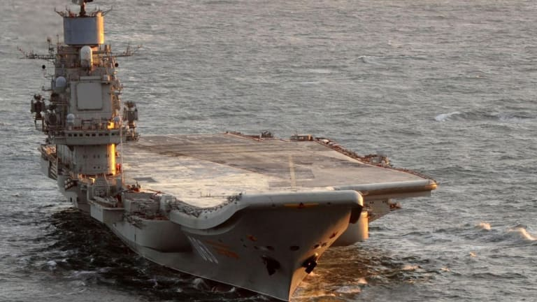 Why the Russia Military Never Built A Lot of Aircraft Carriers