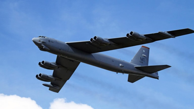 Air Force Arms B-52 With Nuclear-Armed Long Range Stand Off Cruise Missile