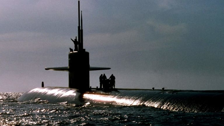 The U.S. Navy Surfaced Three Submarines At Once to Prove a Point to China