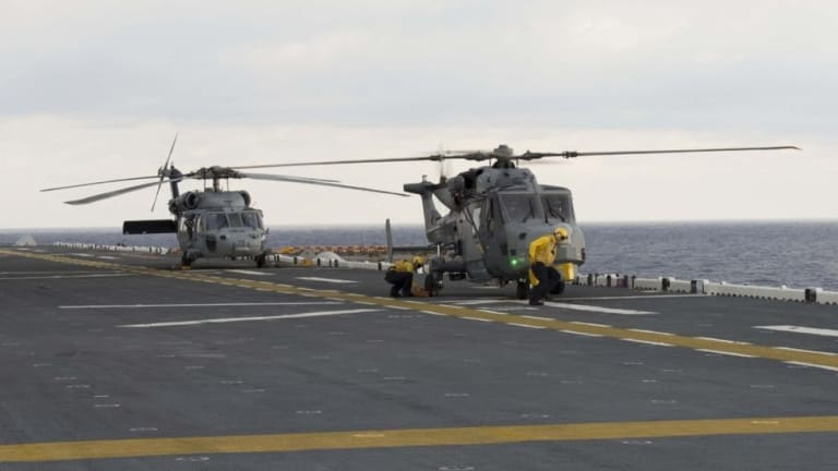 The Wildcat helicopter was made to hunt enemy subs
