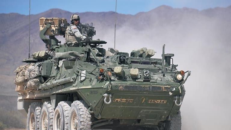 """Future Strykers to Launch """"Attack Drones,"""" """"Fire Lasers,"""" Shoot """"Air Burst"""" Ammo"""