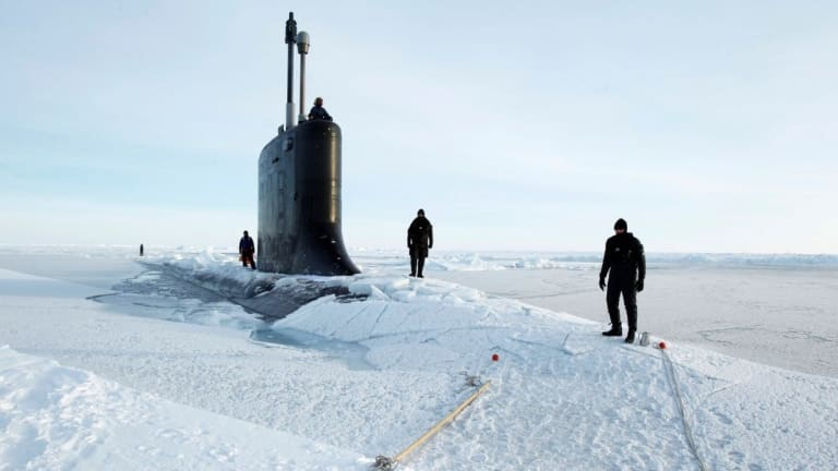 """New Navy """"Blue Arctic"""" Strategy Cites Russia & China,  Preps for Massive Ice War"""
