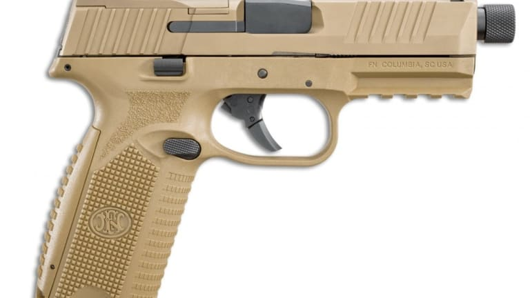 New FN 509 Compact Tactical Pistol: Small, Sleek and Very Concealable