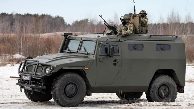 """Russia Has """"Tiger"""" Armored Cars, But How Good are They?"""
