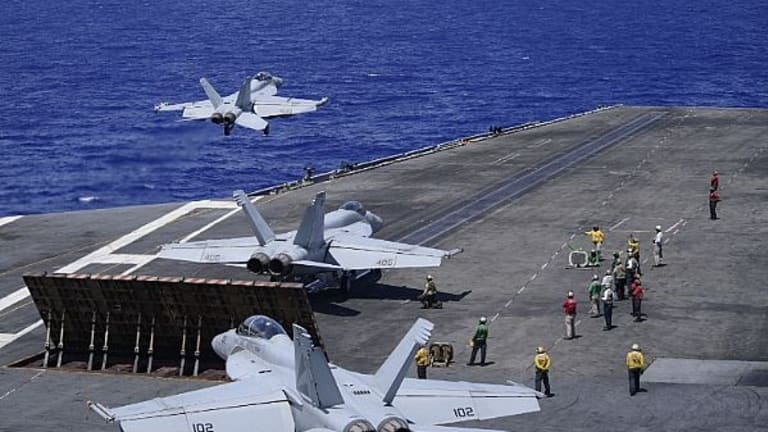 """Navy Brings Massive 3-Carrier """"Show of Force"""" to Taiwan Strait, South China Sea"""