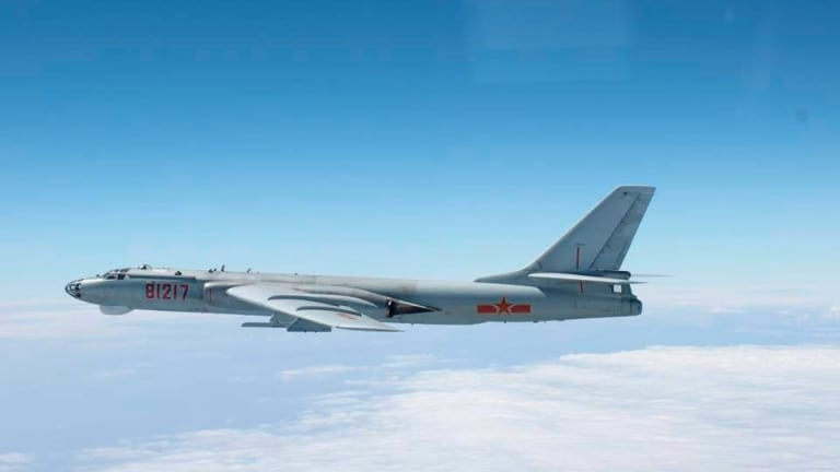 Chinese bombers train against US targets