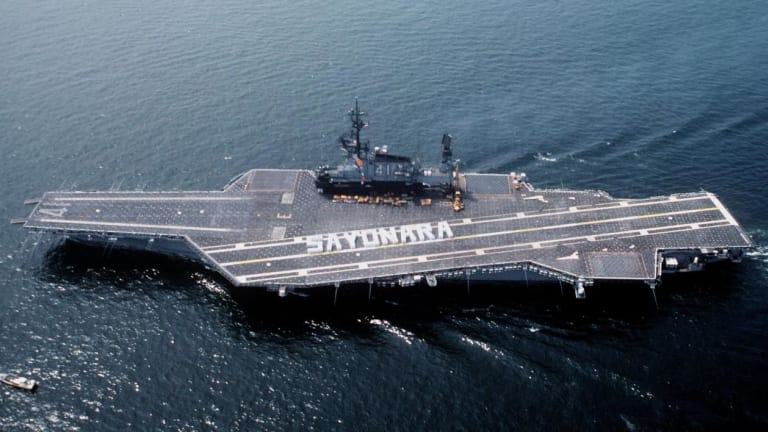 This Legendary Navy Aircraft Carrier Served for Nearly Half a Century