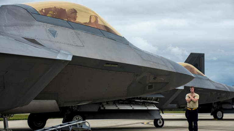 2 Things America's Mighty F-22 Raptor Can't Beat