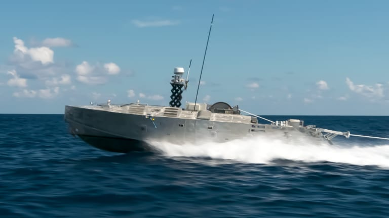 Navy Arms Surface Sea Drones For Ocean Attack