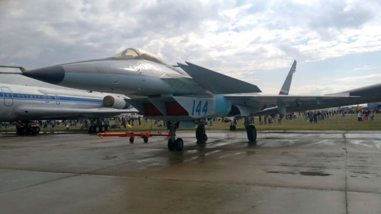 Russia's First Attempt at a 5th-Generation Aircraft Didn't Go Well