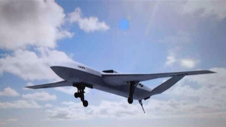 New Navy Carrier-Launched Drone Could Double Fighter-Jet Range