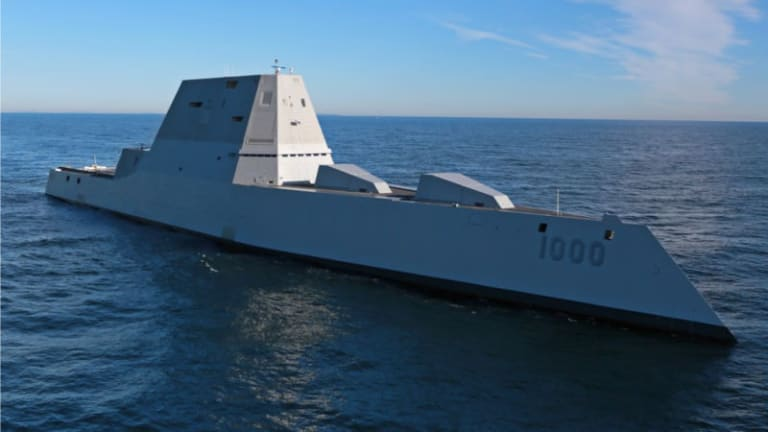 Navy Stealthy Zumwalt Destroyer to Fire First Missiles, Expand Mission