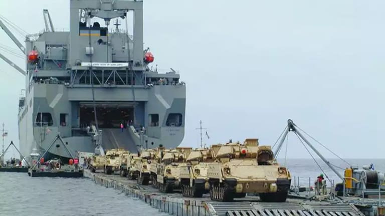 Moving Tanks Over Ocean to War - How Will the Pentagon Revitalize Sealift?