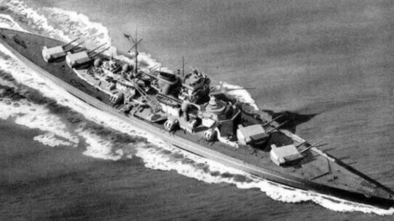 Battleships: Nazi Bismark vs. U.S. Iowa-Class