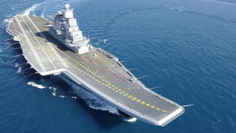 China Claims This is Why India's Only Operational Aircraft Carrier Caught Fire