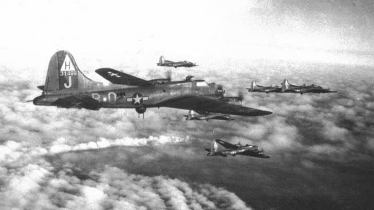 War Story: A WWII B-17 Pilot Attacks Over Germany
