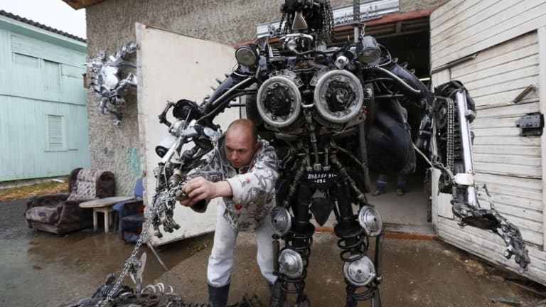 Russia to Hold Firing Tests of Its Combat Robot