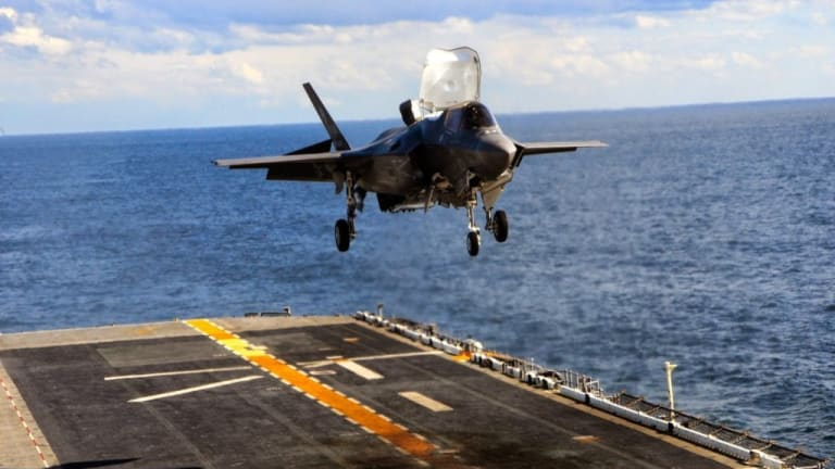 Navy Ship Cruise Missile Defense to Use F-35C
