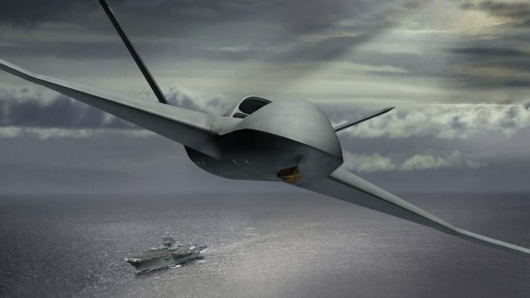Navy to Pick First-Ever Carrier-Launched Drone Later This Year