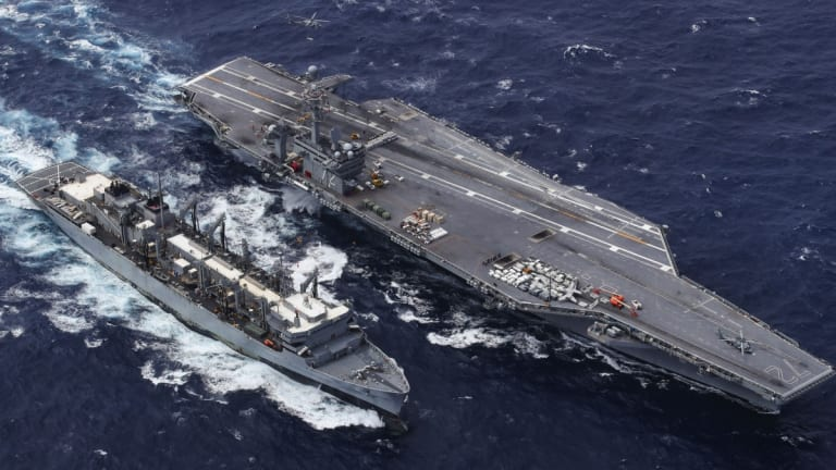 How Iran Could Sink a Navy Aircraft Carrier in Battle