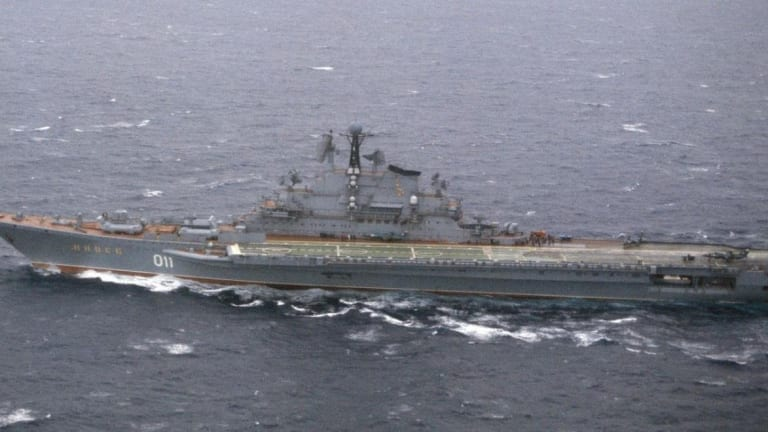 Could Russia's Kiev-Class Aircraft Carrier Take On the U.S. Navy's Best?