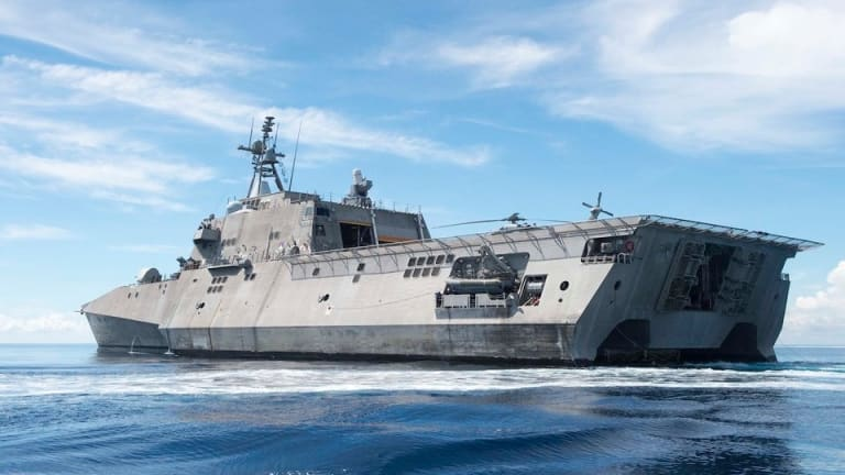 Step aboard the USS Coronado, part of the troubled LCS class
