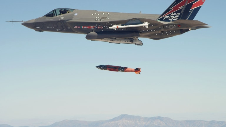Air Force F-35 Integrates Precision-Guided B61 Mod 12 Nuclear Weapon