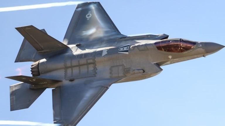 """Air Force Accelerates F-35 As War-Attack """"Sensor Node"""""""