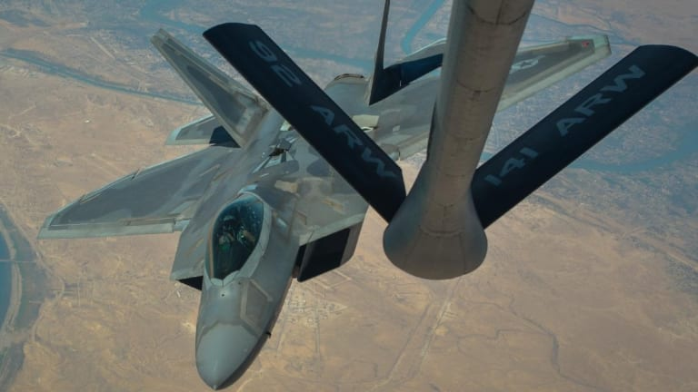 U.S. Air Force Stealth F-22 Raptors Have Been Moved to Qatar to Attack Iran