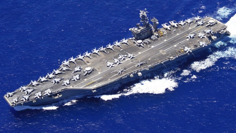 Navy Sends Carrier Strike Group to Counter Iranian Threat