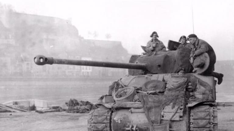 Video Footage: Actual WWII Tank Battle