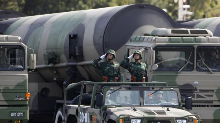 """Chinese Military """"Training' for Strikes on U.S."""