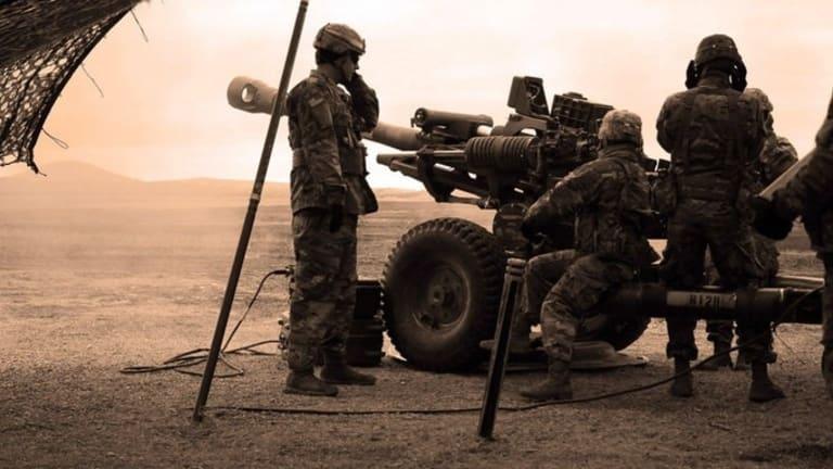 U.S. Military Battle with Possible Russian Mercenaries