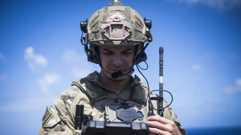 Marine Corps Brings 5G Connectivity to Base Defense