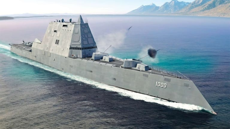 U.S. Navy Stealth Warship to Get New Missiles, Lasers and Deck-Mounted Gunfire
