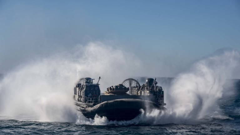 WWII: How Fast Attack Marine Corps Amphib Craft Raced Ashore