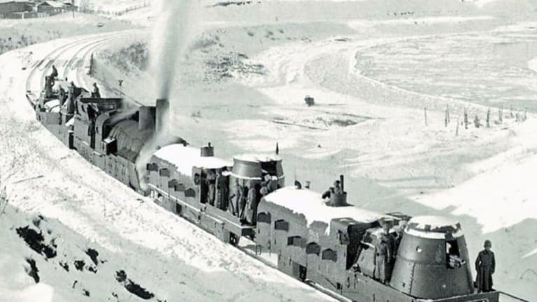 This Remarkable Armored Train Fought Its Way Across Eurasia
