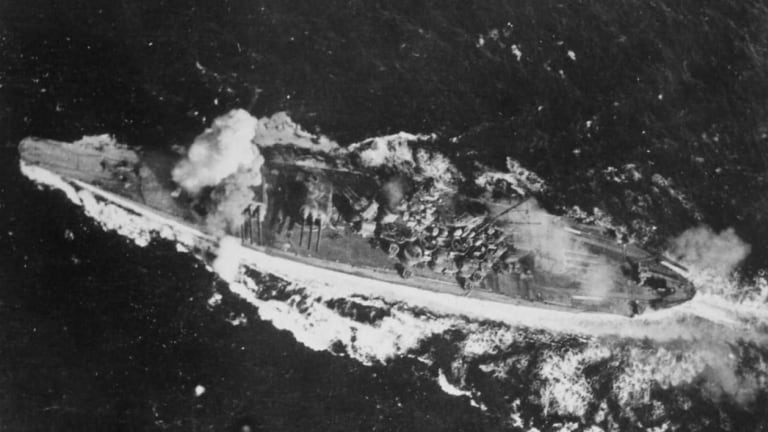 World War II: How the Biggest Warship Ever Was Destroyed