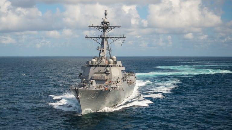 Navy Starts Building its 1st Flight III Destroyer - New Weapons, Sensors & Radar