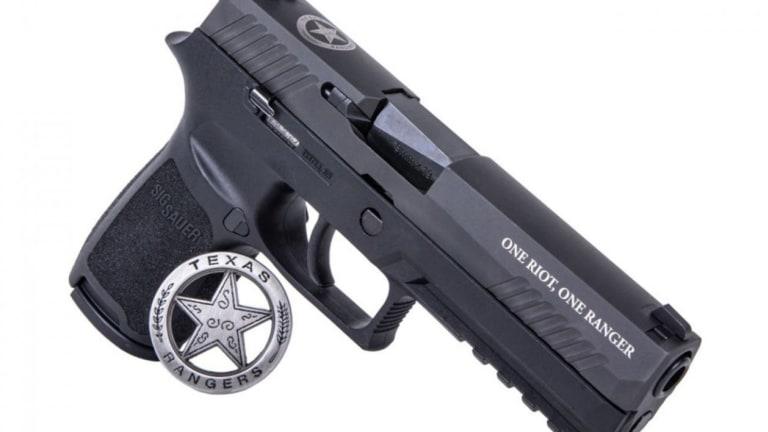Sig Sauer Introduces Texas Ranger Limited Edition P320
