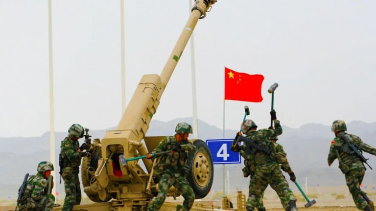 "China ""Gun Trucks"": Take a 122mm Howitzer and Stick It on a Pickup Truck"