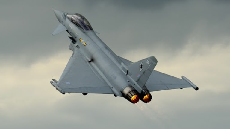 Europe Adds Massive New Weapons Firepower to Eurofighter Typhoon Jet