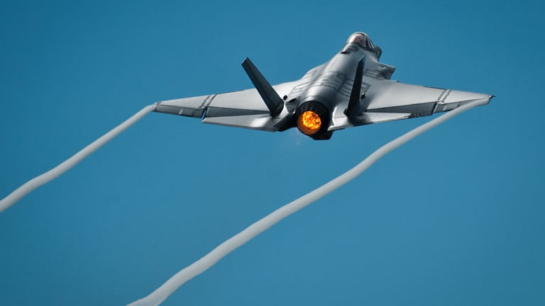Drone Swarms Clear Path for F-35s to Bring Firepower