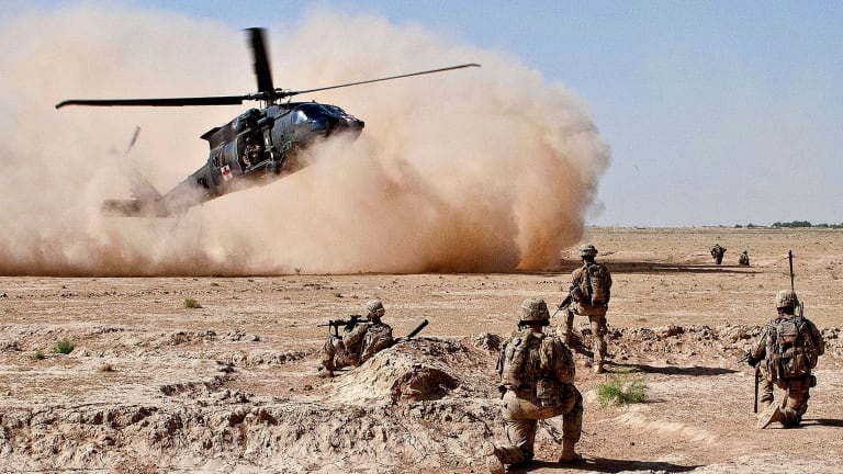 Afghan Air Force Now Attacks Taliban in US Black Hawk Helicopters