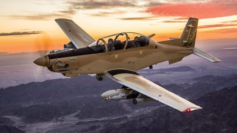 Air Force Preps Light Attack Plane for Combat Missions in Great Power War