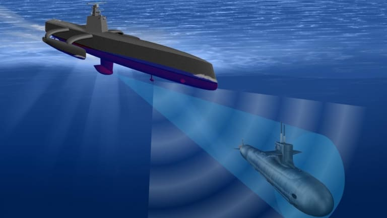Navy Fast-Tracks 7 New Ocean Drone Prototypes