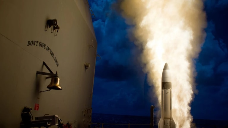 Navy Destroyers May Fire Hypersonic Weapons