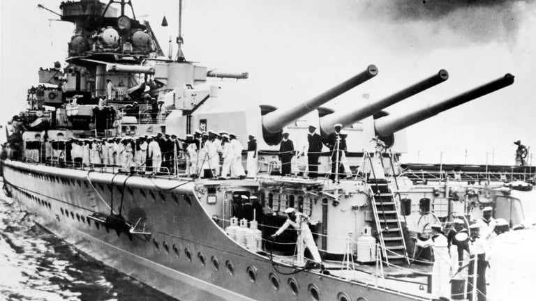 How Britain Tricked a German Battleship into Sinking Itself